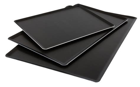 Simple Tip Use Two Cookie Sheets by Exal Non Stick Aluminum Baking Sheet Matfer Usa Kitchen