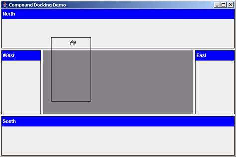 java swing window simple demo for dockable windows dockable 171 swing