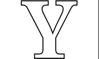 boxed capital letter y coloring pages coloring pages