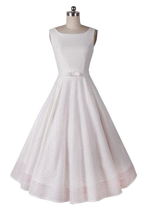 Vintage Dress 1410175 1950s pinup vintage rockabilly hepburn boat neck dress i 1410175 163 39 99 of