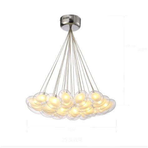 modern clear glass pendant light modern led pendant light led pendant l egg glass 90