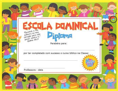 certificados de escuela dominical diplomas de escuela dominical para imprimir yahoo image