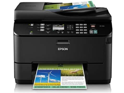 Printer All In One Epson Pro Workforce Wp 4590 epson workforce pro wp 4530 color inkjet wireless all in