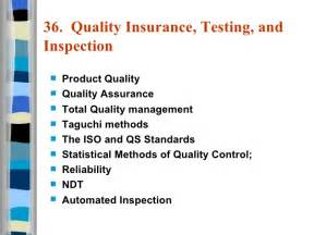 Gallery images and information quality assurance slogans and posters