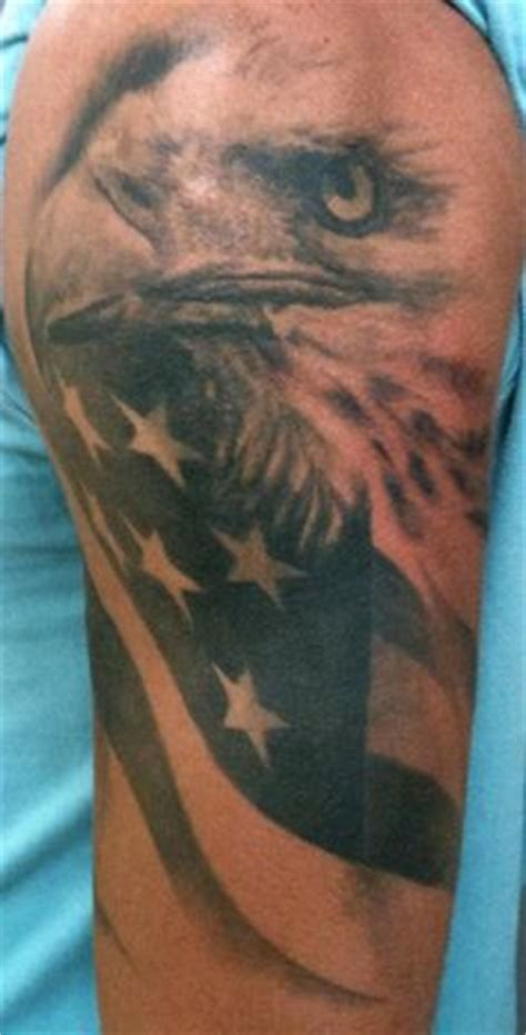 tribal american flag tattoo 1000 ideas about patriotic tattoos on