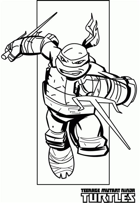 Ninja Turtles Coloring Pages Pdf - Coloring Home