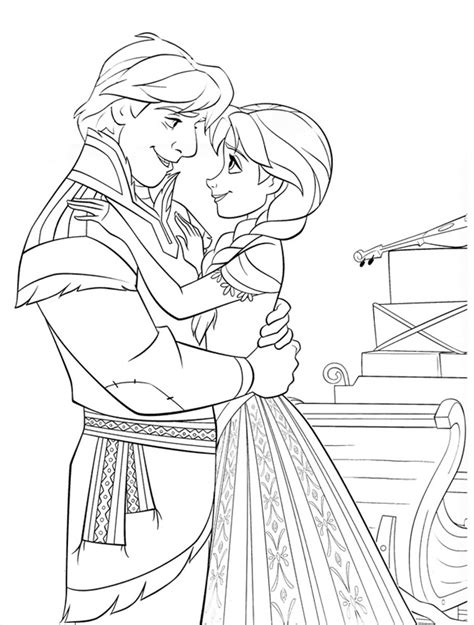 frozen coloring pages and kristoff family frozen coloring pages 9 frozen coloring pages