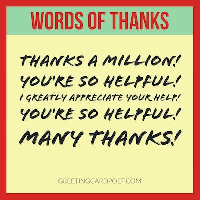 words of thanks messages | how to express gratitude
