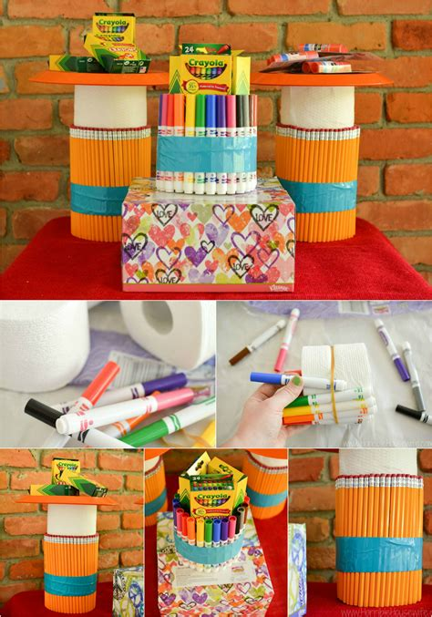 back to school decorations using everyday items