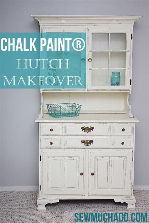 chalk paint hutch hutch makeover with chalk paint 174 for the home