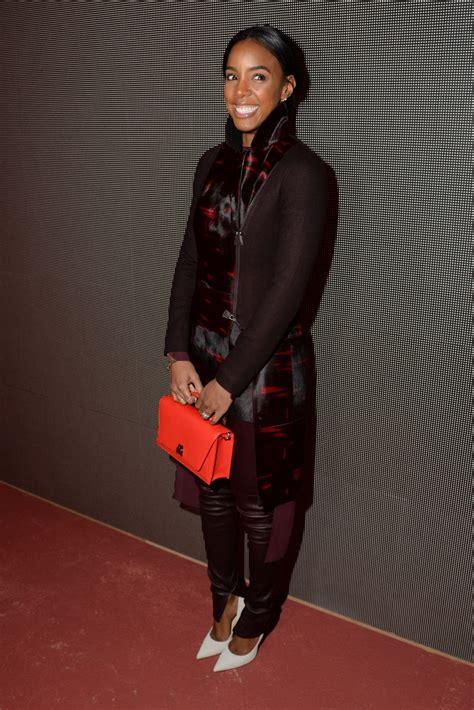 2016 kelly rowland kelly rowland akris fashion show in paris autumn