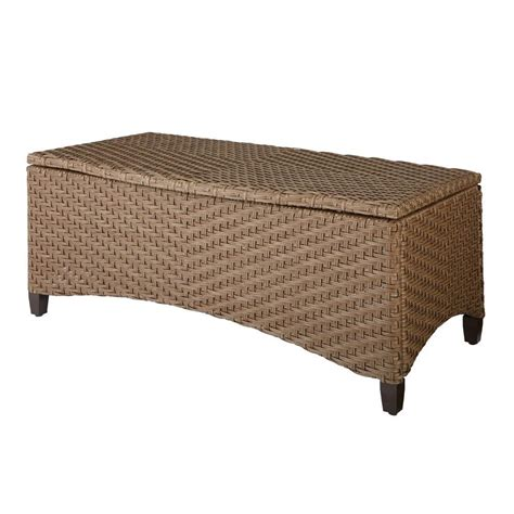 hton bay bolingbrook trunk patio coffee table d13106