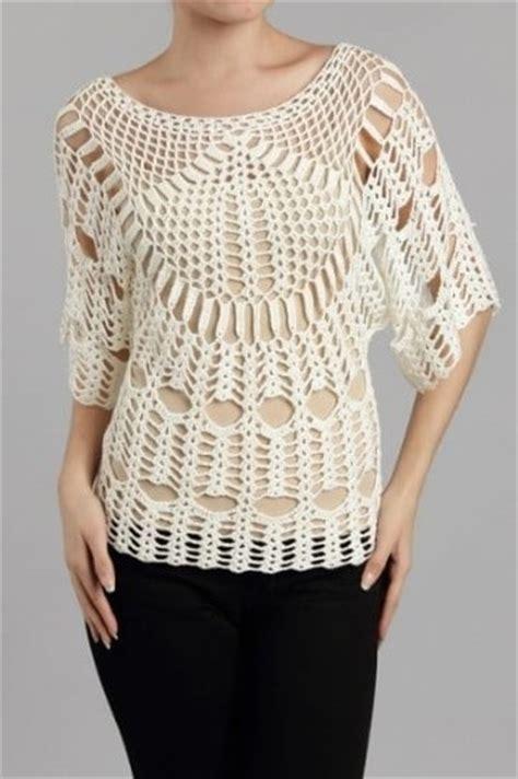 blusas de gancho blusas tejidas con gancho modernas patrones gratis