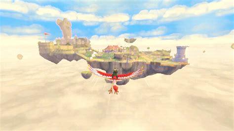 legend of zelda skyloft map the legend of zelda skyward sword review