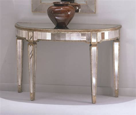 Unique Entry Tables Contemporary Mirrored Foyer Table Unique Stabbedinback Foyer Mirrored Foyer Table Ideas