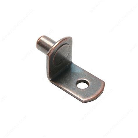 l shaped metal shelf pin 1 4 quot richelieu hardware