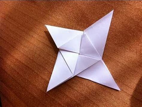 4 Pointed Origami - origami shrimp easy doovi
