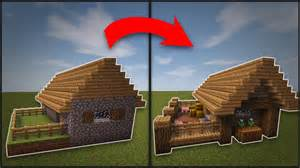 How To Remodel A House Minecraft How To Remodel A Village Butcher S Shop Youtube