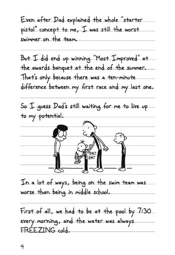 DIARY OF A WIMPY KID: RODRICK RULES (Book 2) | Wimpy Kid