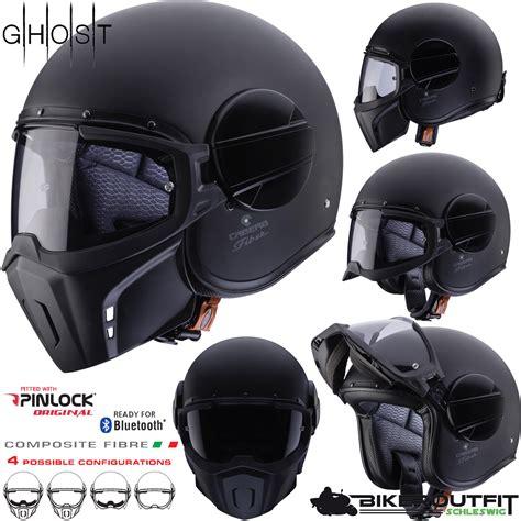 Motorradhelm Pinlock caberg jethelm ghost helm motorradhelm leicht schwarz matt