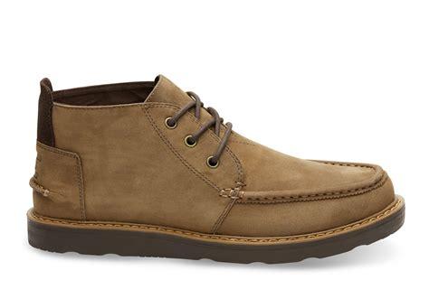 nubuck s chukka boots toms 174