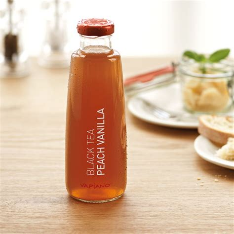 Black Tea With Vanilla For Detox by Vapiano Tea Black Tea Vanilla Drink