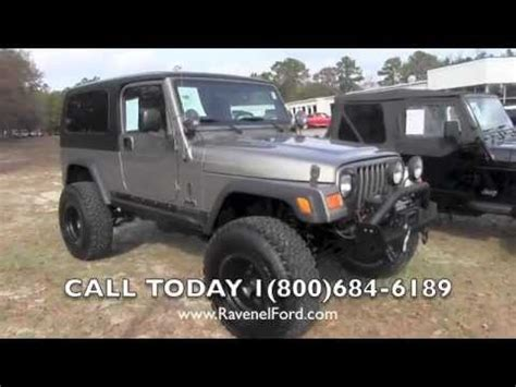 2006 jeep wrangler tj unlimited 4x4 review * charleston