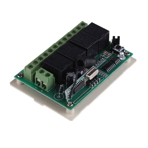 Universal Wireless Transmitter Receiver Remote Pagar Garasi rf wireless remote universal remote code