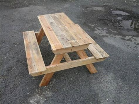 diy picnic bench diy pallet picnic table 101 pallet ideas