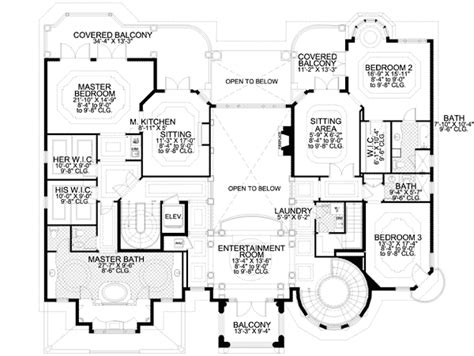 floor plans with 2 master suites master suite with morning kitchen 32075aa 2nd floor