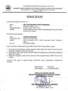 contoh lengkap surat tugas tentang bimbingan dan konseling