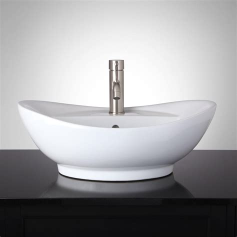vessel sink bathroom valor oval vessel sink bathroom