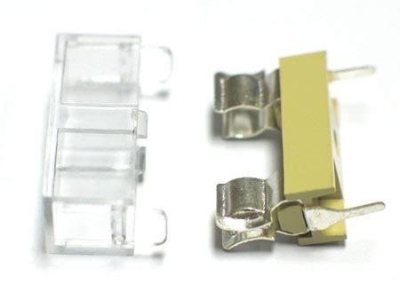 Pcb Holder Telijia Universal Original pcb panel mount fuse holder w cover 5x20mm 5851