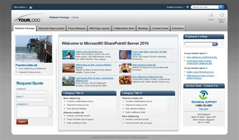 sharepoint page layout templates sharepoint themes sharepoint templates sharepoint master