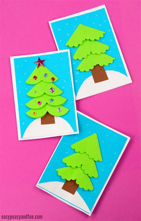 paper circle card easy peasy and