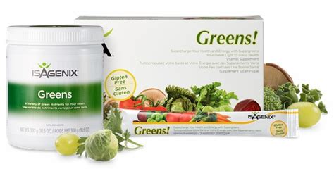 Greens Daily Detox Side Effects by Isagenix Greens Healthy Vegetables In Powder Form
