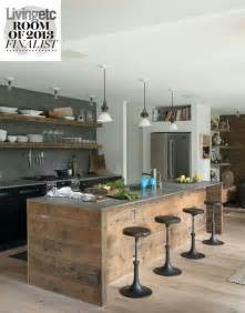 Industrial Style Kitchen Islands by Rustic Industrial Style Kitchen For The Home Pinterest