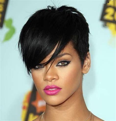 2012 2013 rihanna short hairstyles 8 | short hairstyle 2013