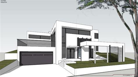 Split Level House Pictures Modern House Split Level 3d Warehouse