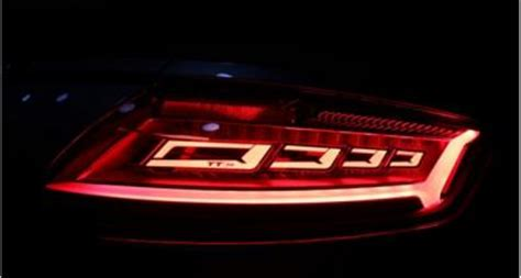 audi to use oled taillights in the 2016 tt rs coupe | oled