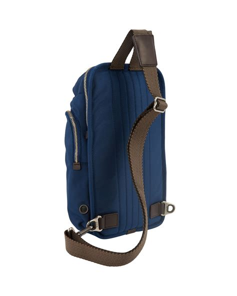Tumi Monterey Sling Bag Blue 9ctw by Tumi Bravo Monterey Sling Bag In Blue For Lyst