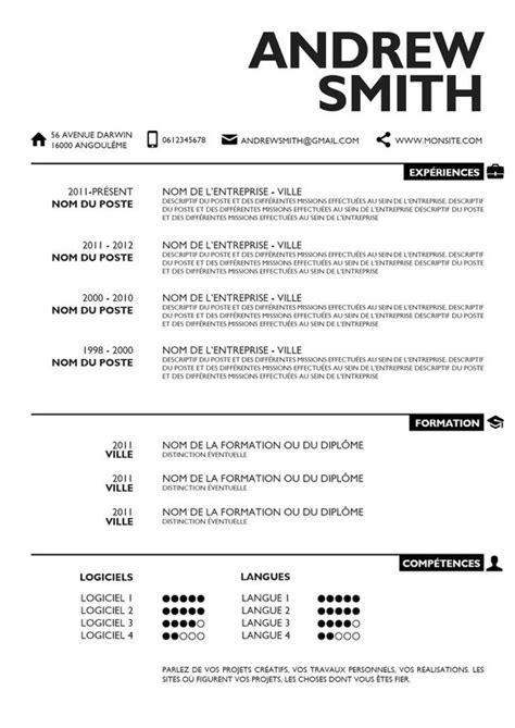 Cv Nice Design | cv design simple cv and design on pinterest