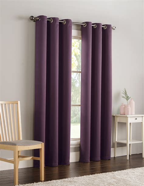kmart drapes and curtains dark room rye blackout panel plum home home decor