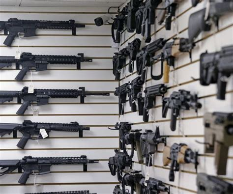 Failing Background Check Fbi Seizes Guns After 4 000 Plus Fail Background Checks Newsmax