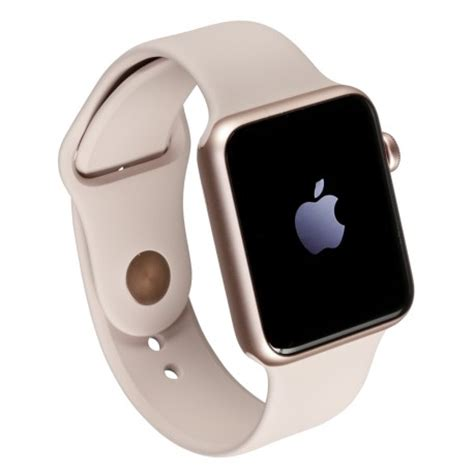 apple watch 2 42mm rose gold alu case with pink sand sport