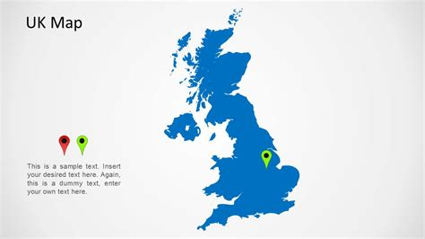 uk map for powerpoint slidemodel
