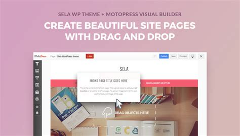 free wordpress themes page builder how to build a wordpress website with free sela theme and