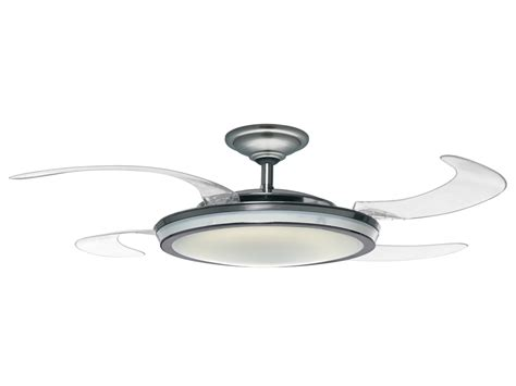retractable blade ceiling fan with light modern fan lights retractable ceiling fans with lights