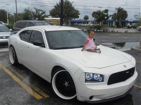 white charger with black rims dodge charger white wheels
