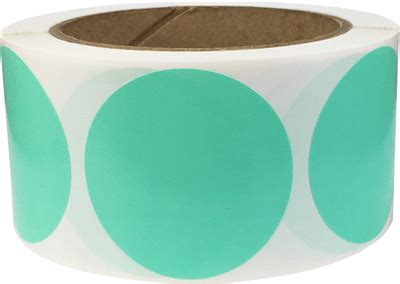 wintergreen color wintergreen color code labels 2 inches